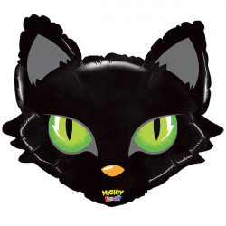 "MIGHTY CAT HEAD 38"" SHAPE MBC PKT"
