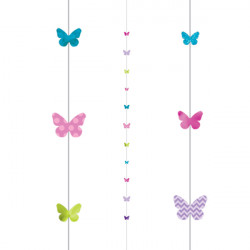 BUTTERFLIES 1.82m BALLOON FUN STRINGS