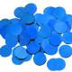 BLUE 25MM ROUND METALLIC CONFETTI 100G