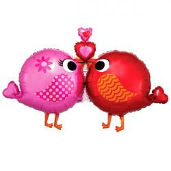 LOVE BIRDS SHAPE P35 PKT