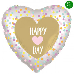 HEART DAY SATIN STANDARD S40 PKT