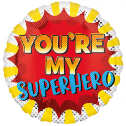 YOU'RE MY SUPERHERO STANDARD S40 PKT