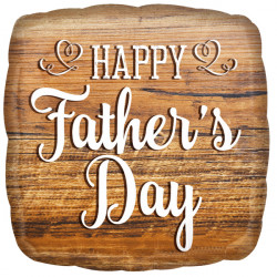 WOOD SIGN HAPPY FATHER'S DAY STANDARD S40 PKT