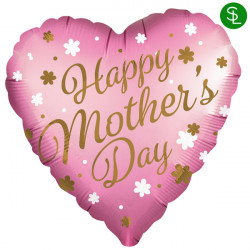 HAPPY MOTHER'S DAY SATIN STANDARD S40 PKT
