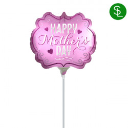 MARQUEE SATIN HAPPY MOTHER'S DAY MINI SHAPE A30 FLAT