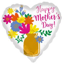 GOLD VASE HAPPY MOTHERS DAY JUMBO P32 PKT