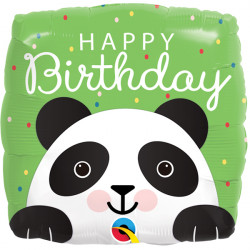 "PANDA BIRTHDAY 18"" PKT"