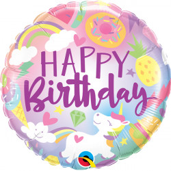 "FANTASTICAL FUN BIRTHDAY 18"" PKT"
