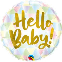 """HELLO BABY 18"""" PKT IF"""