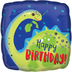 BRONTOSAURUS HAPPY BIRTHDAY STANDARD S40 PKT