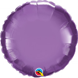 "PURPLE CHROME ROUND 18"" FLAT Q"