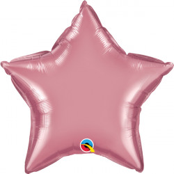 "MAUVE CHROME STAR 20"" FLAT Q"