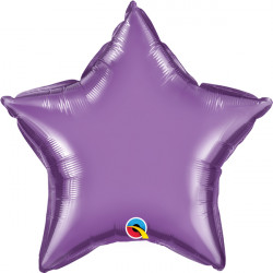 "PURPLE CHROME STAR 20"" FLAT Q"