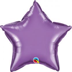 """PURPLE CHROME STAR 20"""" FLAT Q HK"""