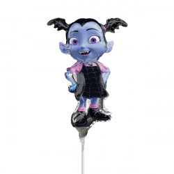 VAMPIRINA MINI SHAPE A30 INFLATED WITH CUP & STICK