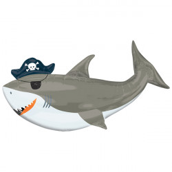 AHOY SHARK SHAPE P35 PKT