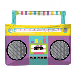 AWESOME PARTY BOOMBOX SHAPE P35 PKT