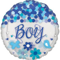 "CONFETTI BABY BOY JUMBO P45 PKT (28"" x 28"")"
