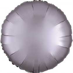 GREIGE SATIN LUXE ROUND STANDARD S15 FLAT A