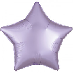 PASTEL LILAC SATIN LUXE STAR STANDARD S15 FLAT A