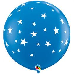 CONTEMPO STARS-A-ROUND 3' DARK BLUE (2CT)
