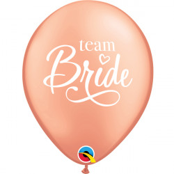 "TEAM BRIDE 11"" ROSE GOLD (25CT) YCQ"
