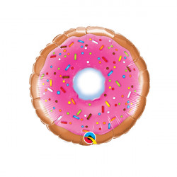 "DONUT 9"" INFLATED WITH STICK & CUP"
