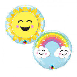 "SUNSHINE RAINBOW 9"" FLAT"