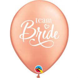 """TEAM BRIDE 11"""" ROSE GOLD (6X6CT)"""
