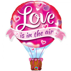 "LOVE IS IN THE AIR BALLOON 42"" SHAPE GROUP B PKT"
