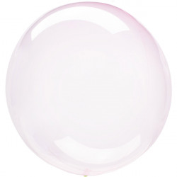 LIGHT PINK CRYSTAL CLEARZ ORBZ S40 PKT