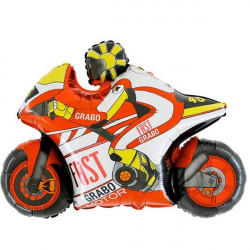 MOTO GP RED GRABO SHAPE FLAT