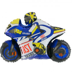 MOTO GP BLUE GRABO SHAPE FLAT