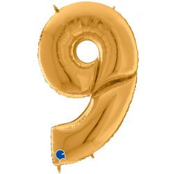 "GIANT GOLD 9 SHAPE 64"" PKT"