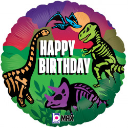 "JURASSIC BIRTHDAY 18"" PKT"