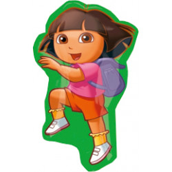 DORA THE EXPLORER STREET TREAT SHAPE FLAT (10CT)