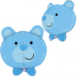 "BEAR BABY BOY 27"" DIMENSIONALS SHAPE D3 PKT"