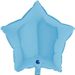 """BLUE MATTE STAR 18"""" GRABO FLAT"""