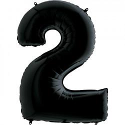 """BLACK NUMBER 2 SHAPE 26"""" PKT"""