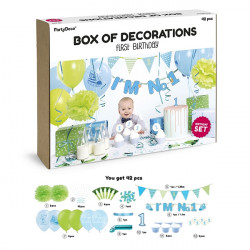 PARTY DECORATIONS DINOSAUR SET