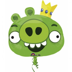 ANGRY BIRDS KING PIG SHAPE P38 PKT