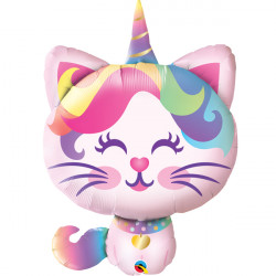 "MYTHICAL CATICORN 38"" SHAPE GROUP C PKT"