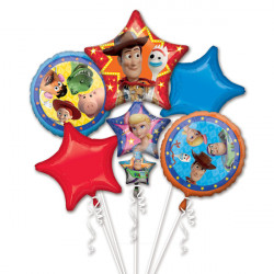 TOY STORY 4 5 BALLOON BOUQUET P75 PKT (3CT)
