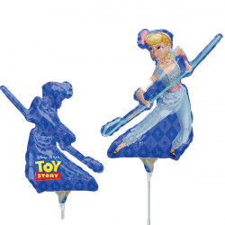 TOY STORY 4 BO PEEP MINI SHAPE A30 INFLATED WITH CUP & STICK