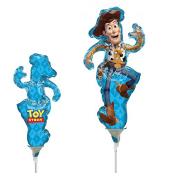 TOY STORY 4 WOODY MINI SHAPE A30 INFLATED WITH CUP & STICK
