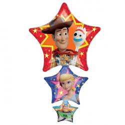 TOY STORY 4 SHAPE P38 PKT