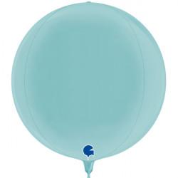 "PASTEL BLUE GLOBE 15"" PKT"