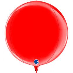 "RED GLOBE 15"" PKT"