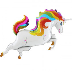 UNICORN BODY RAINBOW GRABO SHAPE FLAT