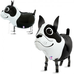 "BOSTON TERRIER 26"" BALLOON FRIENDS PKT"